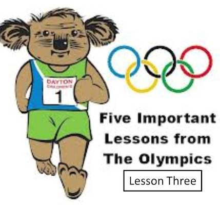 olympic lesson three