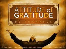 2016.08.01.Develop an attitude of gratitude