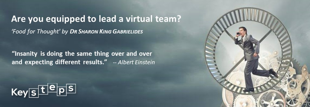 Are you equipped to lead a virtual team?