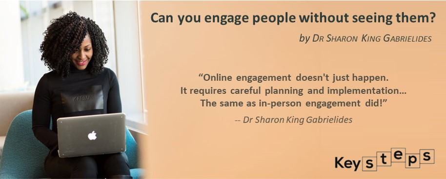 can you engage people without seeing them?